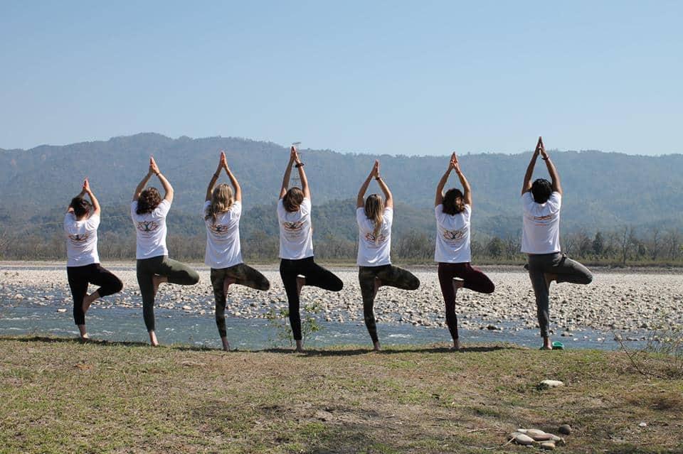 yoga ashrams Rishikesh